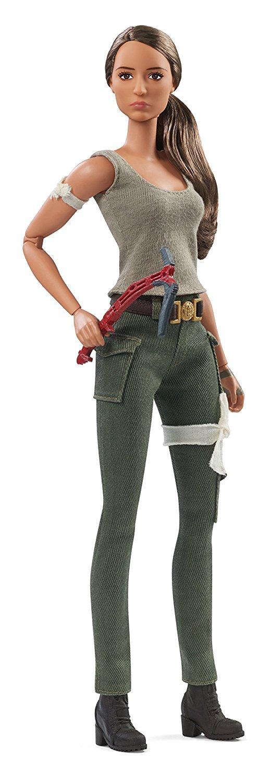 ALTRI Barbie collectors - Tomb Raider Lara Croft, dal nuovo film di Tomb Raider, da collezione - FJH53 Barbie 12+ Anni Femmina