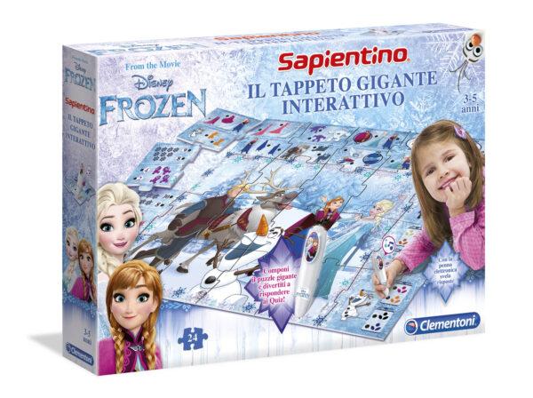 Tappeto Gigante Interattivo Frozen Disney Unisex 3-4 Anni, 3-5 Anni, 5-8 Anni Disney Frozen