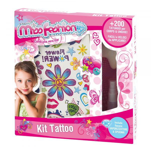 Kit tattoo MISS FASHION Femmina  ALTRI