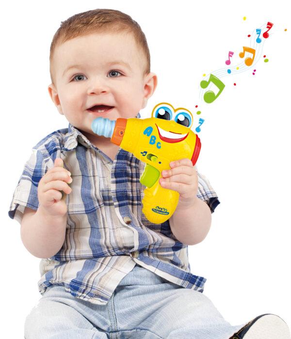 CLEMENTONI - 14903 - Berto il Trapano - Baby Clementoni - Toys Center Unisex 0-12 Mesi, 12-36 Mesi, 3-5 Anni ALTRI BABY CLEMENTONI