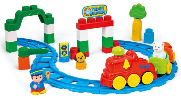 CLEMENTONI - 14928 - La Stazione del Treno CLEMMY Unisex 0-2 Anni, 12-36 Mesi, 3-4 Anni, 3-5 Anni ALTRI