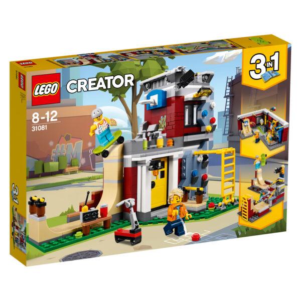 31081 - Skate House modulare - Lego Creator - Toys Center LEGO CREATOR Unisex 12+ Anni, 5-8 Anni, 8-12 Anni ALTRI