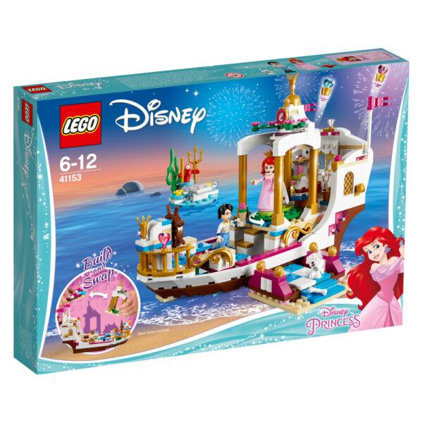 41153 - La barca della festa reale di Ariel - Disney - Toys Center - Disney - Costruzioni