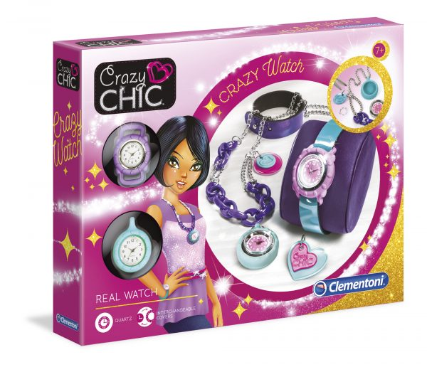 Crazy Chic Crazy watch CRAZY CHIC Femmina 5-7 Anni, 8-12 Anni ALTRI