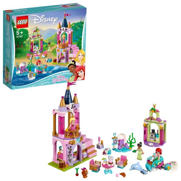 41162 - I festeggiamenti reali di Ariel, Aurora e Tiana - Disney Princess - Toys Center - DISNEY PRINCESS - Costruzioni