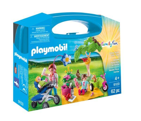 VALIGETTA GRANDE PICNIC PLAYMOBIL - FAMILY FUN Femmina 12+ Anni, 3-5 Anni, 5-8 Anni, 8-12 Anni ALTRI
