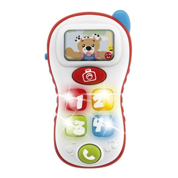 ABC SELFIE PHONE - Chicco - Toys Center Chicco Unisex 0-12 Mesi, 12-36 Mesi, 12+ Anni, 3-5 Anni, 5-8 Anni, 8-12 Anni ALTRI