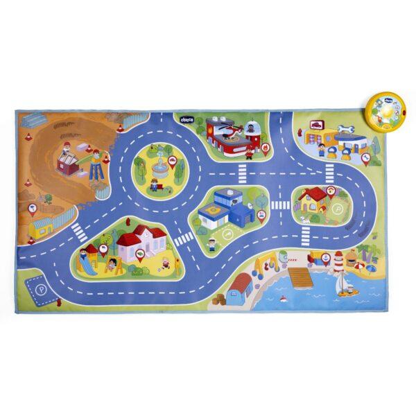 TAPPETO ELETTRONICO DELLA CITTA' - Chicco - Toys Center Chicco Unisex 12-36 Mesi, 12+ Anni, 3-5 Anni, 5-8 Anni, 8-12 Anni ALTRI