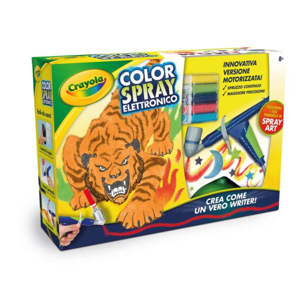 Color Spray Elettronico Crayola - ALTRO - Kit artistici e pittura