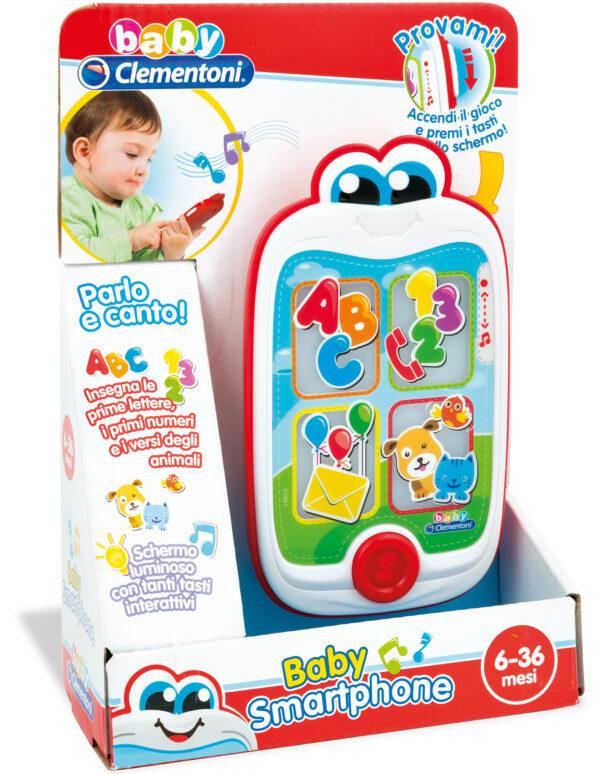 CLEMENTONI - 14854 - Baby Smartphone ALTRI Unisex 0-12 Mesi, 12-36 Mesi, 3-5 Anni BABY CLEMENTONI