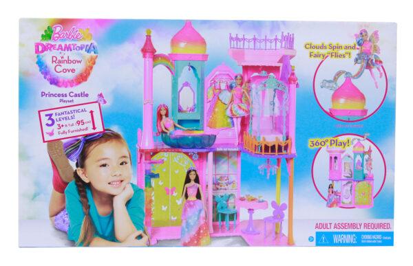 Castello Arcobaleno Barbie Femmina 12-36 Mesi, 3-4 Anni, 3-5 Anni, 5-7 Anni, 5-8 Anni, 8-12 Anni ALTRI