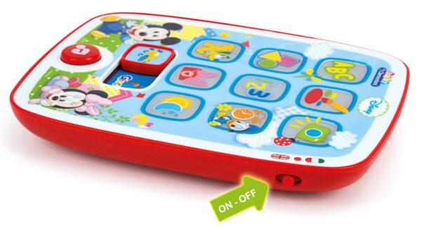 I Tablet diBaby  Mickey Unisex 0-12 Mesi, 0-2 Anni, 12-36 Mesi, 3-5 Anni, 5-8 Anni TOPOLINO&CO. Disney