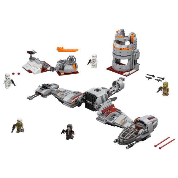 Disney Star Wars LEGO STAR WARS - Difesa di Crait™ - 75202 Maschio 12+ Anni, 8-12 Anni