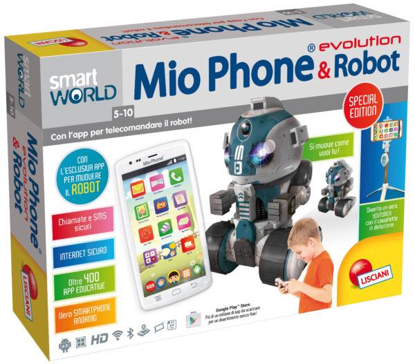 """Mio Phone 5"""" 3G + Robot Special Edition - ALTRO - Fino al -20%"""