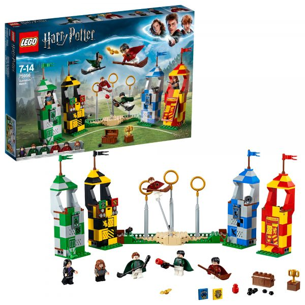 75956 - Harry Potter - Partita di Quidditch - Warner Bros. - Toys Center LEGO® Harry Potter™, WARNER BROS. Unisex 12+ Anni, 5-8 Anni, 8-12 Anni HARRY POTTER