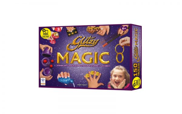 GLITZY MAGIC DELUXE VERSION TOYS CENTER Unisex 12+ Anni, 5-8 Anni, 8-12 Anni