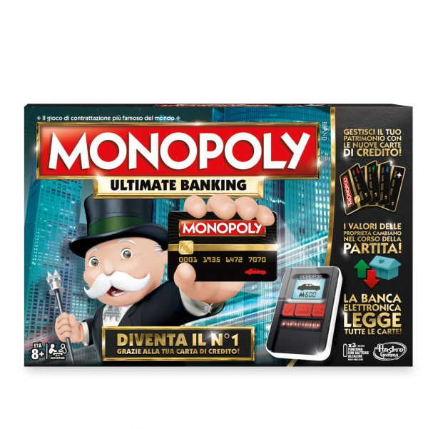 Monopoly Banking - Hasbro Gaming - Toys Center ALTRI Unisex 12+ Anni, 5-8 Anni, 8-12 Anni HASBRO GAMING