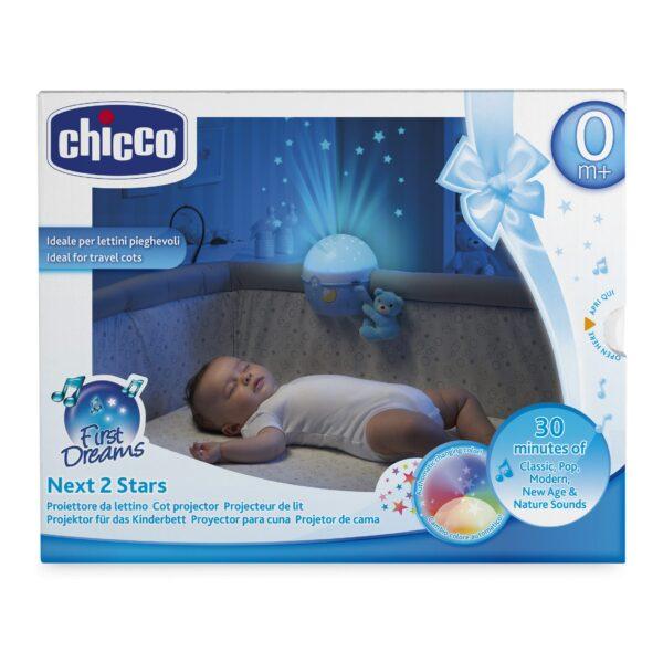 Chicco ALTRI Proiettore Next2 Stars blu Maschio 0-12 Mesi, 0-2 Anni, 12-36 Mesi, 3-5 Anni