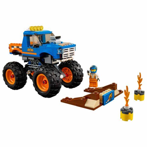 LEGO CITY ALTRI LEGO 60180 - Monster Truck Maschio 12+ Anni, 5-8 Anni, 8-12 Anni