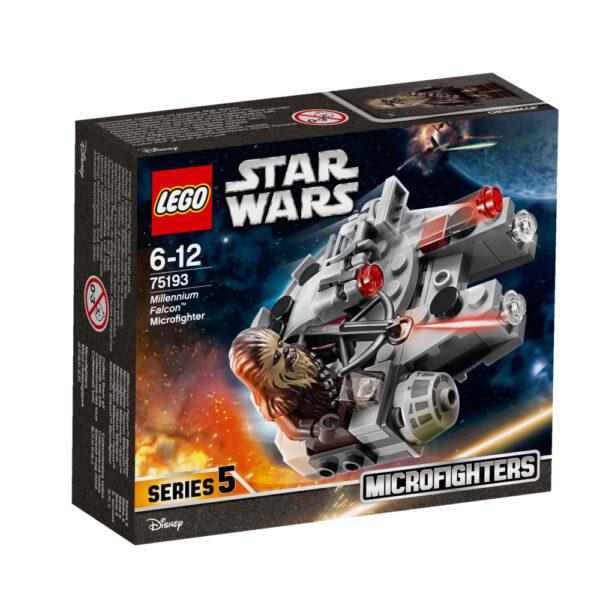 75193 - Microfighter Millennium Falcon™ - DISNEY - DISNEY - Marche Disney Maschio 12+ Anni, 5-8 Anni, 8-12 Anni Star Wars