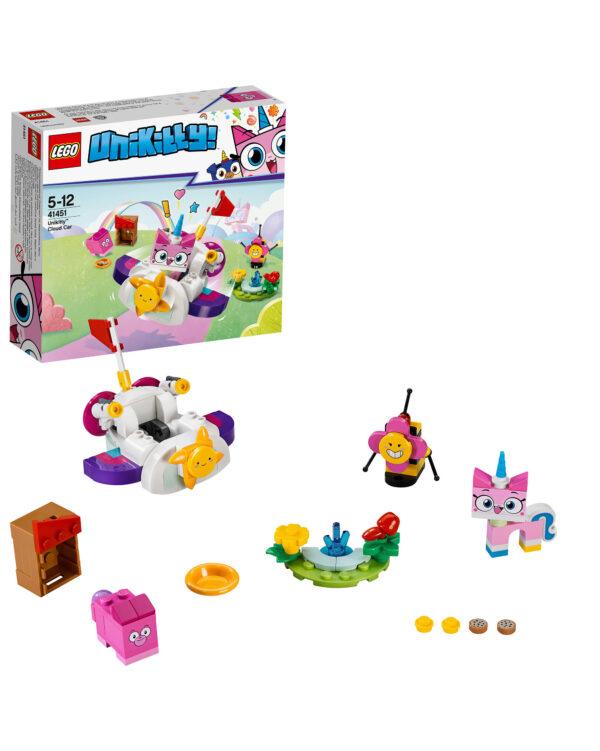 ALTRI LEGO UNIKITTY Unisex 12+ Anni, 3-5 Anni, 5-8 Anni, 8-12 Anni 41451 - La Cloud Car di Unikitty™