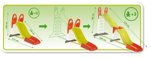 ALTRO Scivolo Megagliss 2 in 1 - Altro - Toys Center Unisex 12-36 Mesi, 3-4 Anni, 3-5 Anni, 5-7 Anni, 5-8 Anni ALTRI