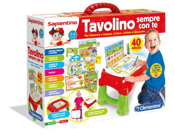 Sapientino Tavolino Sempre con Te SAPIENTINO Unisex 12-36 Mesi, 3-4 Anni, 3-5 Anni, 5-7 Anni, 5-8 Anni ALTRI