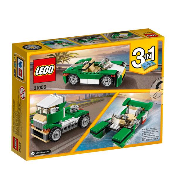 31056 - Decappottabile verde - Lego Creator - Toys Center - LEGO CREATOR - Costruzioni