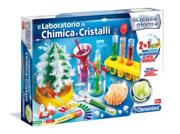 Laboratorio Chimica/Cristalli FOCUS / SCIENZA&GIOCO Unisex 12+ Anni, 8-12 Anni ALTRI