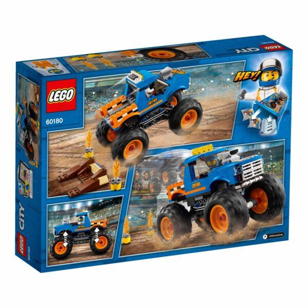 LEGO 60180 - Monster Truck ALTRI Maschio 12+ Anni, 5-8 Anni, 8-12 Anni LEGO CITY