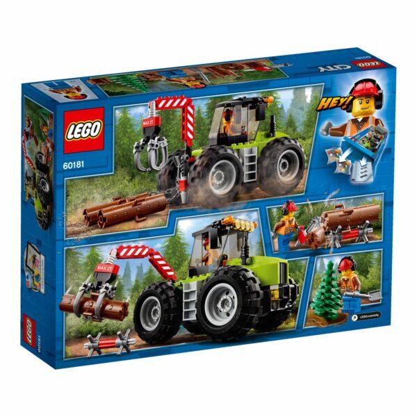 60181 - Trattore forestale - Lego Back to School - LEGO - Marche ALTRI Maschio 12+ Anni, 3-5 Anni, 5-8 Anni, 8-12 Anni LEGO CITY