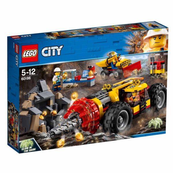 60186 - Trivella pesante da miniera - Lego City - Toys Center - LEGO CITY - Costruzioni
