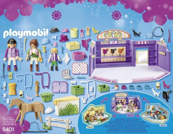 NEGOZIO DI EQUITAZIONE - Playmobil - City Life - Toys Center - Playmobil City Life - Altri giochi per l'infanzia