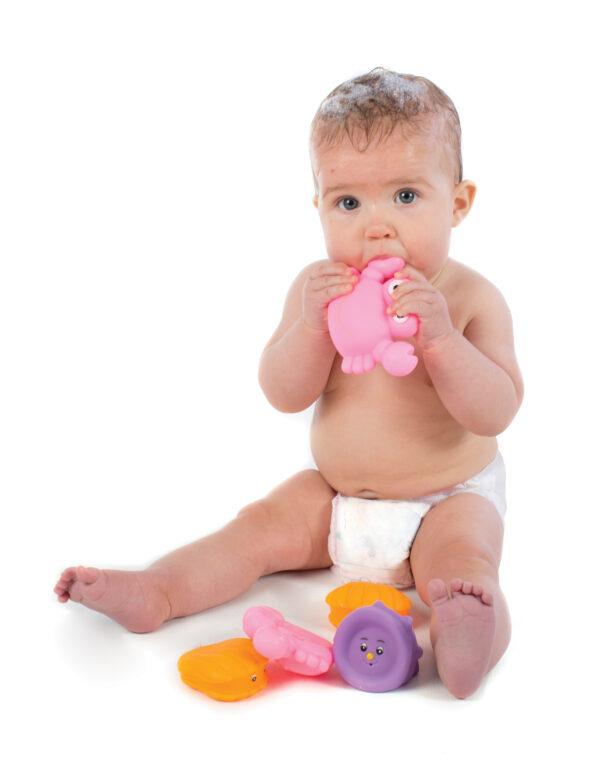 Bathtime Squirtees Girl - PLAYGRO - Marche - ALTRO - Fino al -20%