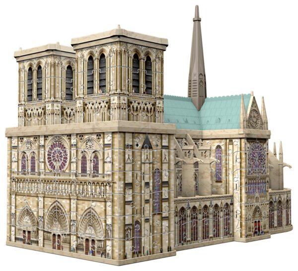 Notre Dame - Puzzle 3D Building Maxi Ravensburger - RAVENSBURGER PUZZLE 3D - Puzzle 3D