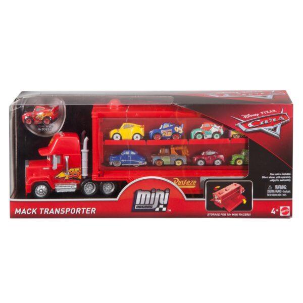 Cars 3 - Mack Trasportatore Mini Racers, con un Mini Racer incluso, può contenere fino a 16 Mini Racers - FLG70 - Disney - Pixar - Toys Center 12+ Anni, 8-12 Anni Maschio DISNEY - PIXAR CARS
