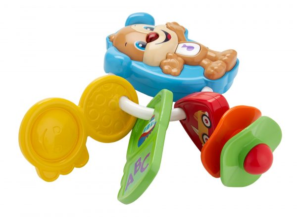 FISHER-PRICE ALTRI Fisher Price - Chiavi Conta e Vai, dentaruolo giocattolo elettronico ridi impara 6-36 mesi - FPH60 - Fisher Price - Toys Center Unisex 0-12 Mesi, 12-36 Mesi