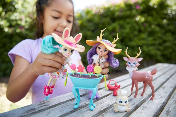Enchantimals - Playset Giardino Incantato - Enchantimals - Toys Center Femmina 12+ Anni, 3-5 Anni, 5-8 Anni, 8-12 Anni ALTRI ENCHANTIMALS