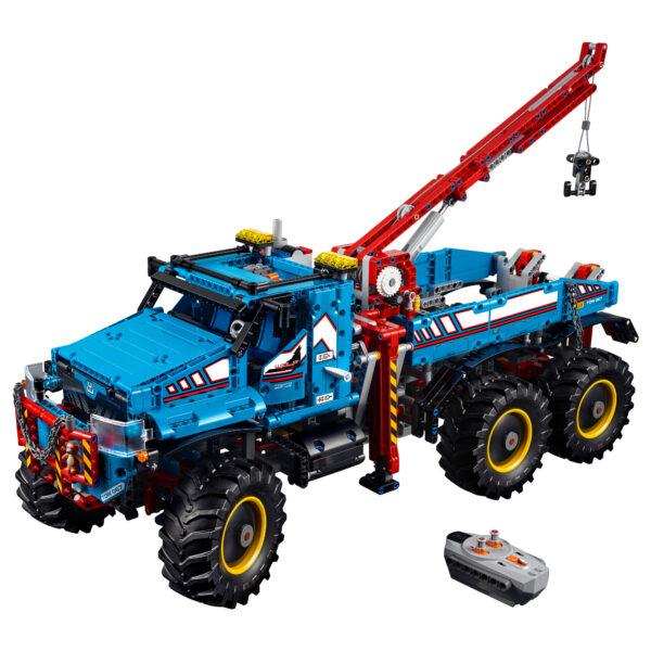 42070 - Camion Autogrù 6x6 - Lego Technic - Toys Center - LEGO TECHNIC - Costruzioni