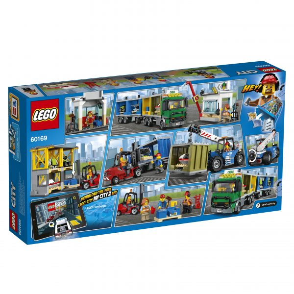 60169 - Terminal merci - Lego City - Toys Center ALTRI Maschio 12+ Anni, 5-8 Anni, 8-12 Anni LEGO CITY