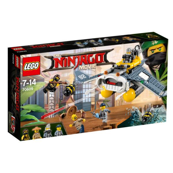 70609 - Bomber Manta Ray - Lego Ninjago - Toys Center LEGO NINJAGO Maschio 12+ Anni, 5-8 Anni, 8-12 Anni ALTRI