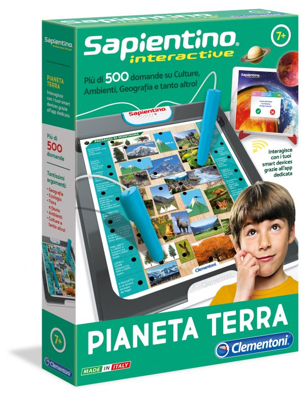 SAPIENTINO INTERACTIVE - PIANETA TERRA - Sapientino - Toys Center SAPIENTINO Unisex 12+ Anni, 5-8 Anni, 8-12 Anni ALTRI
