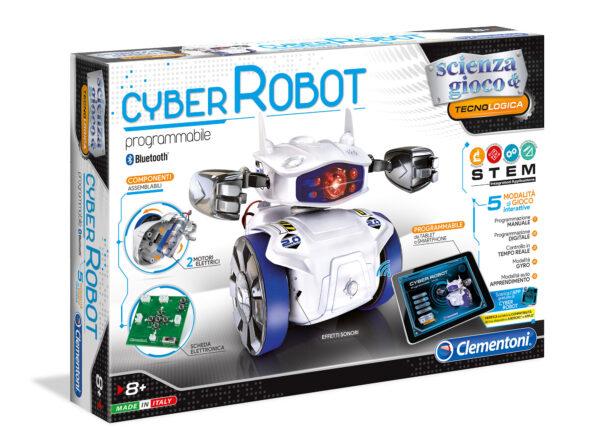 Cyber Robot - Focus / Scienza&gioco - Toys Center FOCUS / SCIENZA&GIOCO Unisex 0-12 Mesi, 12-36 Mesi, 3-5 Anni, 5-8 Anni, 8-12 Anni ALTRI