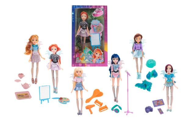 Winx Forever Fashion con Accessori - Bambola Stella - ALTRO - Fashion dolls