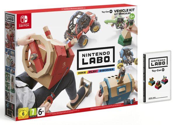 "NINTENDO LABO ""KIT VEICOLI"" - Nintendo - Toys Center - NINTENDO - Giochi di intrattenimento e tablet"
