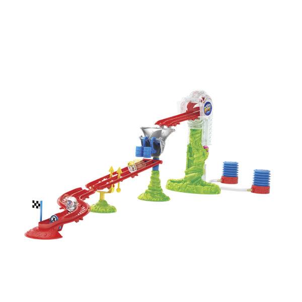ALTRO ALTRI Giochi Preziosi Mighty Beanz, Pista Slammer Time Race Track, con 2 personaggi inclusi - Altro - Toys Center Maschio 3-5 Anni, 5-8 Anni, 8-12 Anni