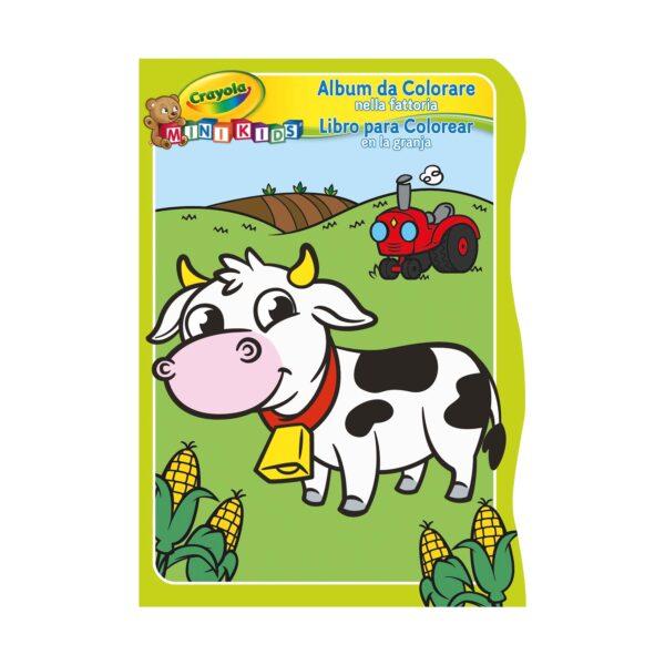 Album da colorare Crayola Mini Kids - 3 soggetti assortiti ALTRI Unisex 0-12 Mesi, 12-36 Mesi, 3-5 Anni ALTRO