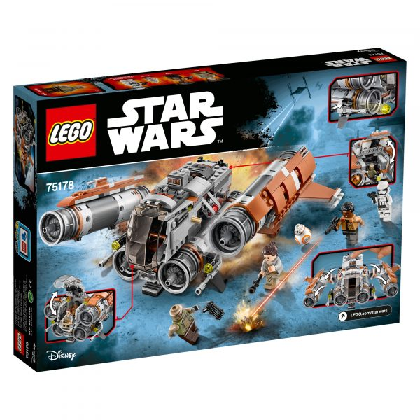 75178 - Quadjumper di Jakku - Disney - Toys Center Star Wars Maschio 12+ Anni, 5-8 Anni, 8-12 Anni Disney
