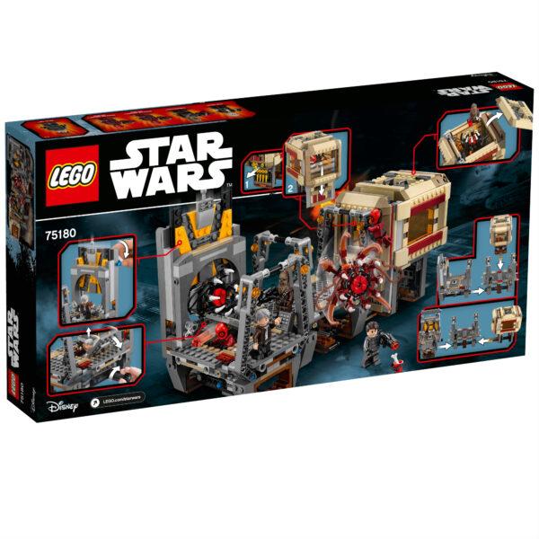 75180 - Fuga dal Rathtar™ - Disney - Toys Center Star Wars Maschio 12+ Anni, 5-8 Anni, 8-12 Anni Disney