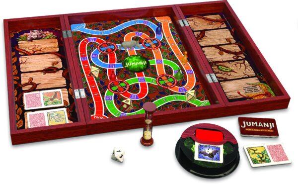 Gioco Jumanji in legno - Spin Master - Giochi da tavolo